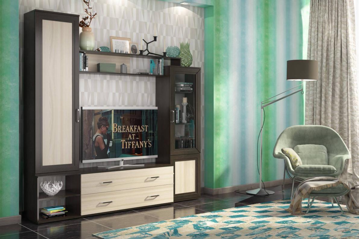 Купить Стенка Абель в  интернет магазине мебели. Мебельный каталог STOLLINE.