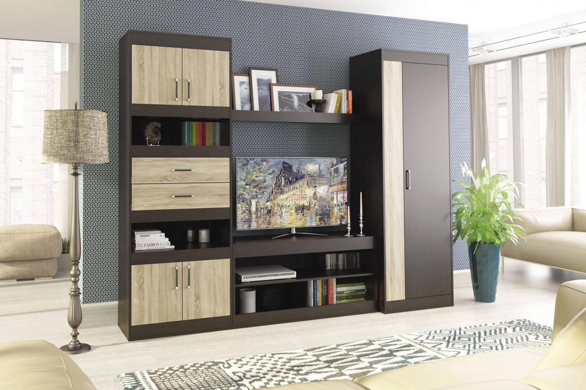 Купить Стенка Агата в  интернет магазине мебели. Мебельный каталог STOLLINE.