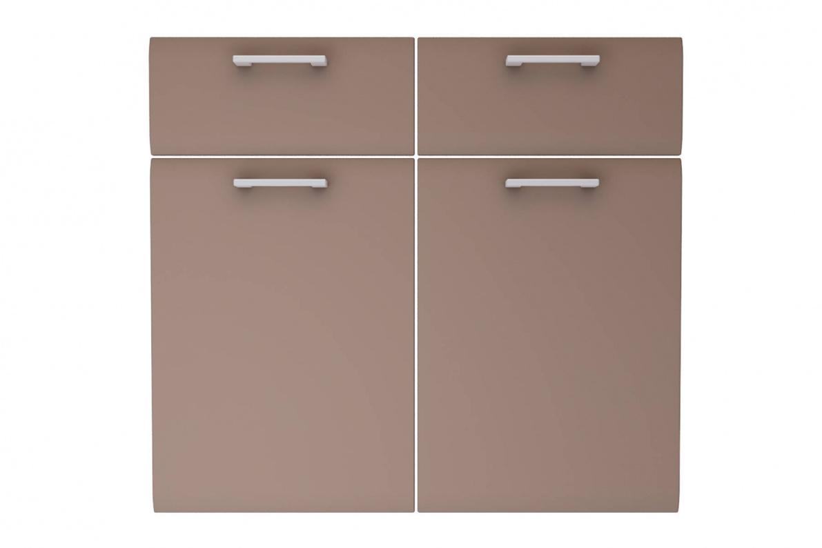 Купить Фасад (ФТЯ2/2-80) Аура для корпусов ТЯ2/2-80 Шоколад в  интернет магазине мебели. Мебельный каталог STOLLINE.