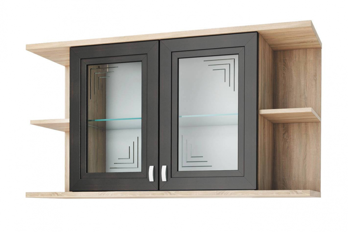 Купить Полка навесная со стеклом Аурелия СТЛ.156.07 в  интернет магазине мебели. Мебельный каталог STOLLINE.