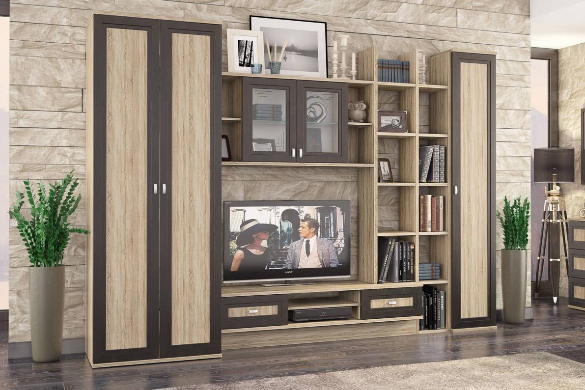 Купить Гостиная Аурелия в  интернет магазине мебели. Мебельный каталог STOLLINE.