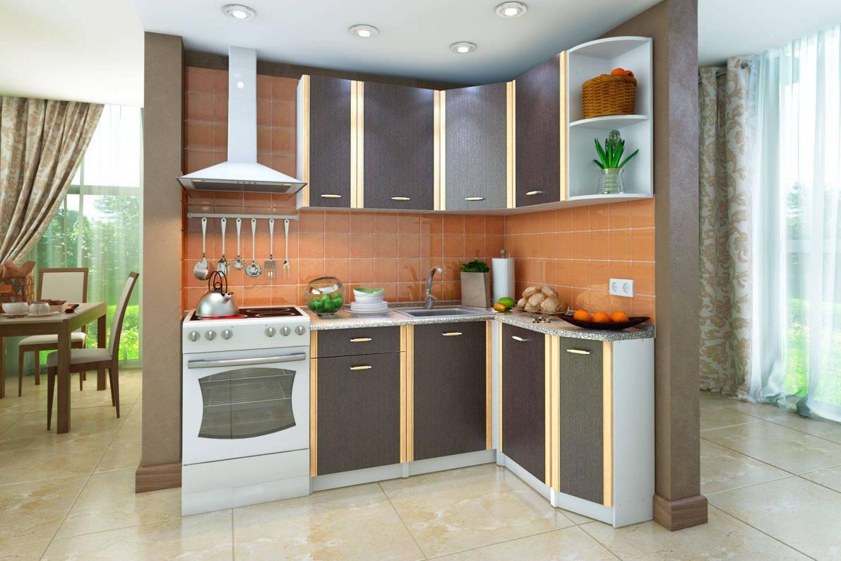 Купить Кухонный гарнитур правый Бланка в  интернет магазине мебели. Мебельный каталог STOLLINE.