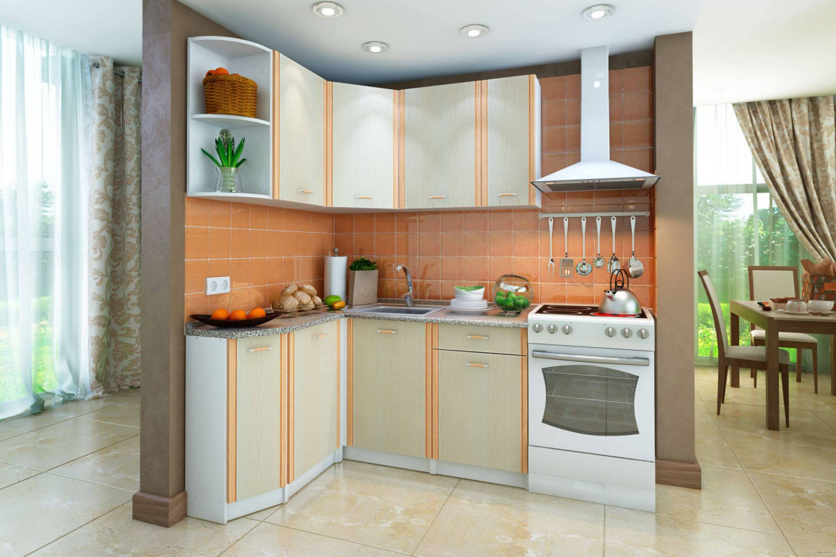 Купить Кухонный гарнитур левый Бланка в  интернет магазине мебели. Мебельный каталог STOLLINE.