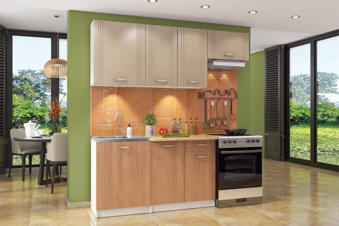 Купить Кухонный гарнитур Бланка в  интернет магазине мебели. Мебельный каталог STOLLINE.
