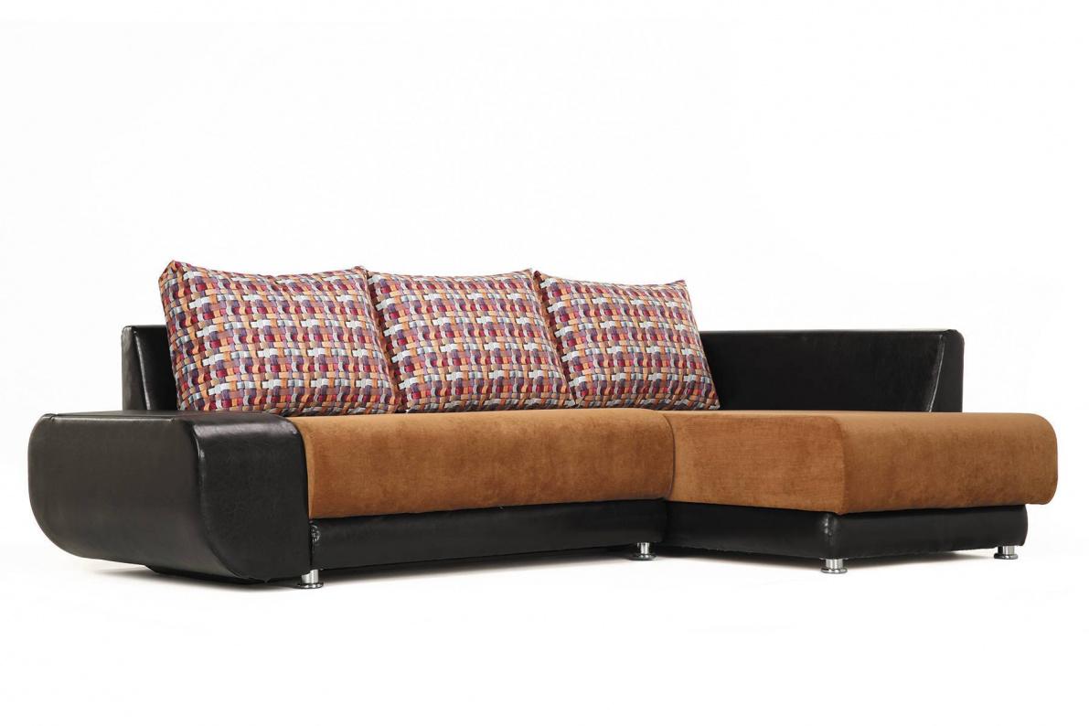 Купить Угловой диван Бруно правый в  интернет магазине мебели. Мебельный каталог STOLLINE.