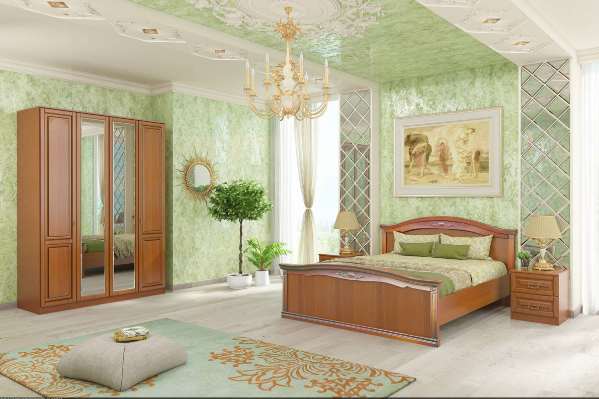 Купить Спальня Диметра в  интернет магазине мебели. Мебельный каталог STOLLINE.