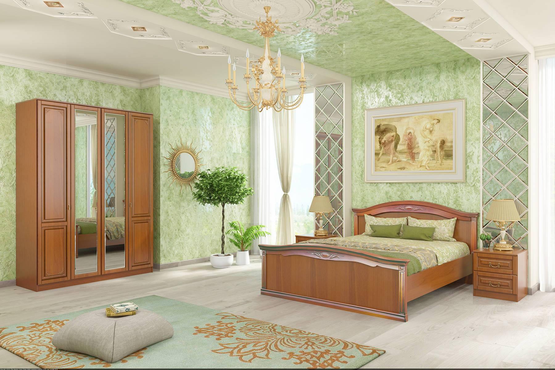 Спальня Диметра короб для кровати с пм диметра