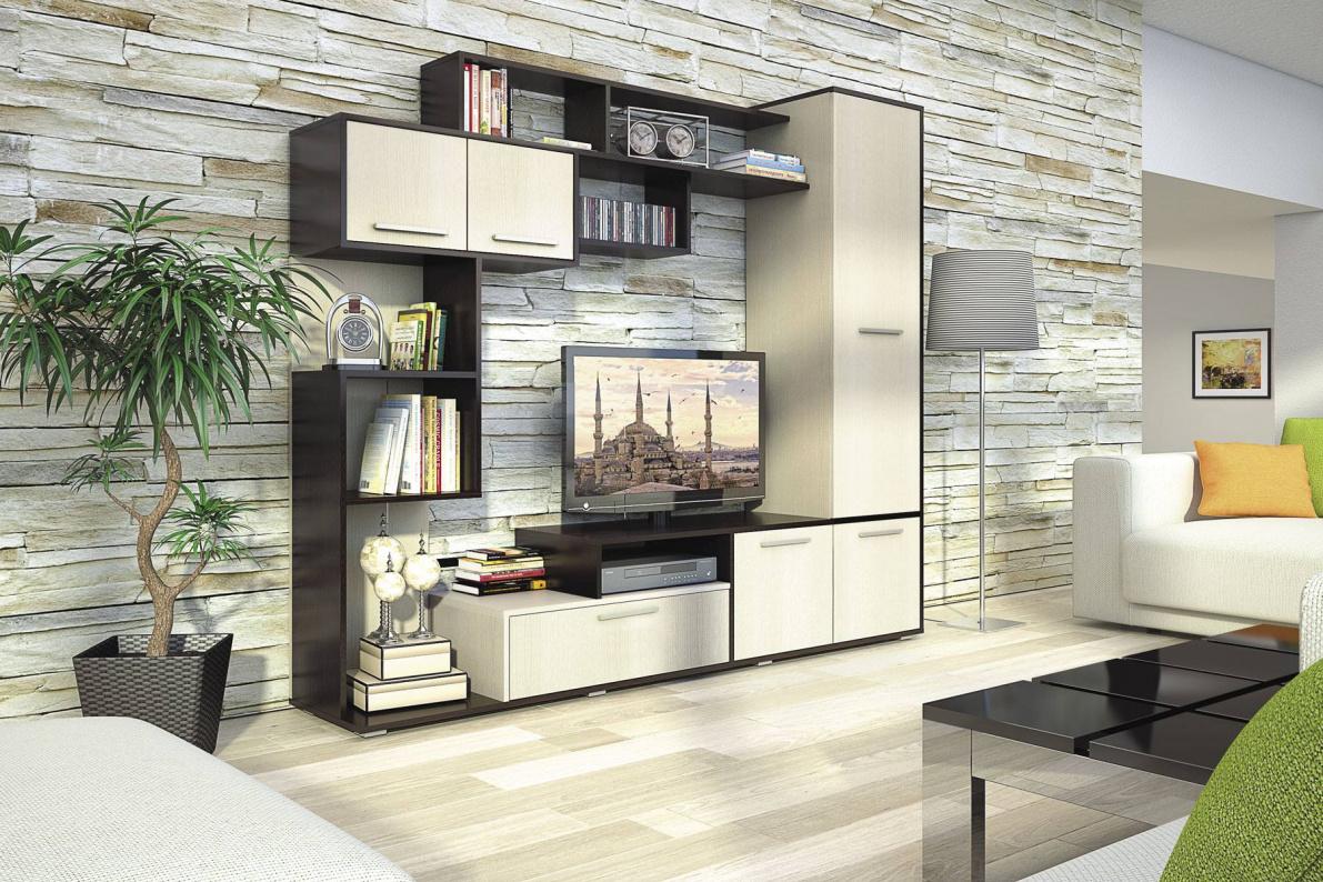 Купить Стенка Диско в  интернет магазине мебели. Мебельный каталог STOLLINE.