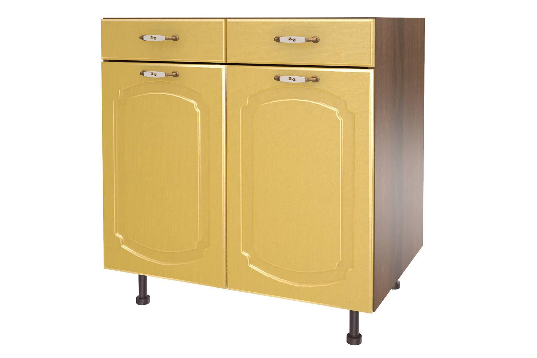 Эмилия шкаф напольный с ящиками