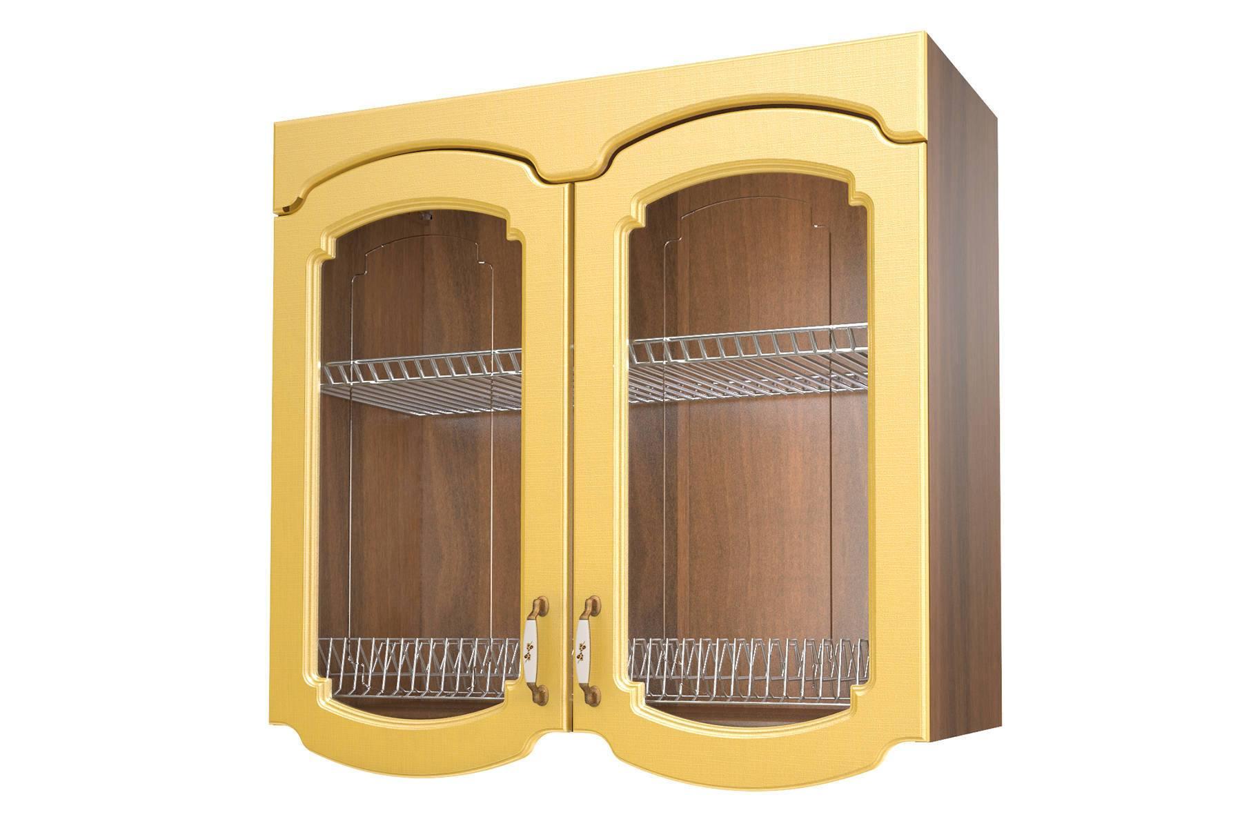 Эмилия шкаф-витрина сушка