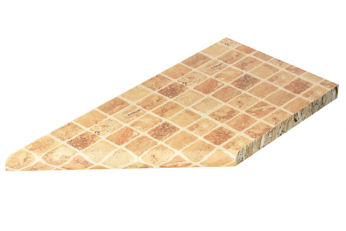 Купить Столешница торцевая пр. Лигурия с кромкой 807М 26мм в  интернет магазине мебели. Мебельный каталог STOLLINE.
