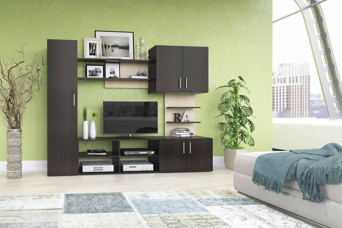 Купить Стенка Феррара в  интернет магазине мебели. Мебельный каталог STOLLINE.