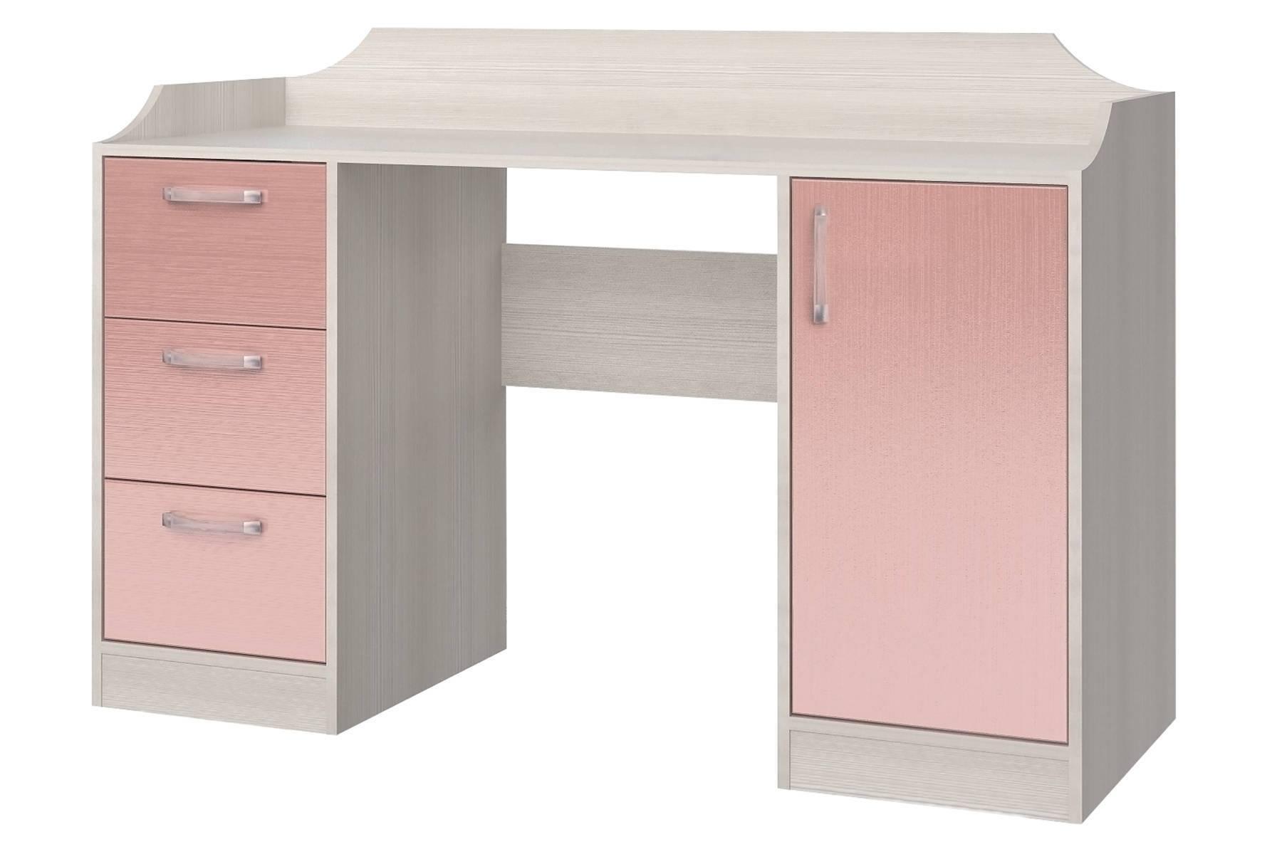 Стол компьютерный Флауэ Розовый СТЛ.093.22