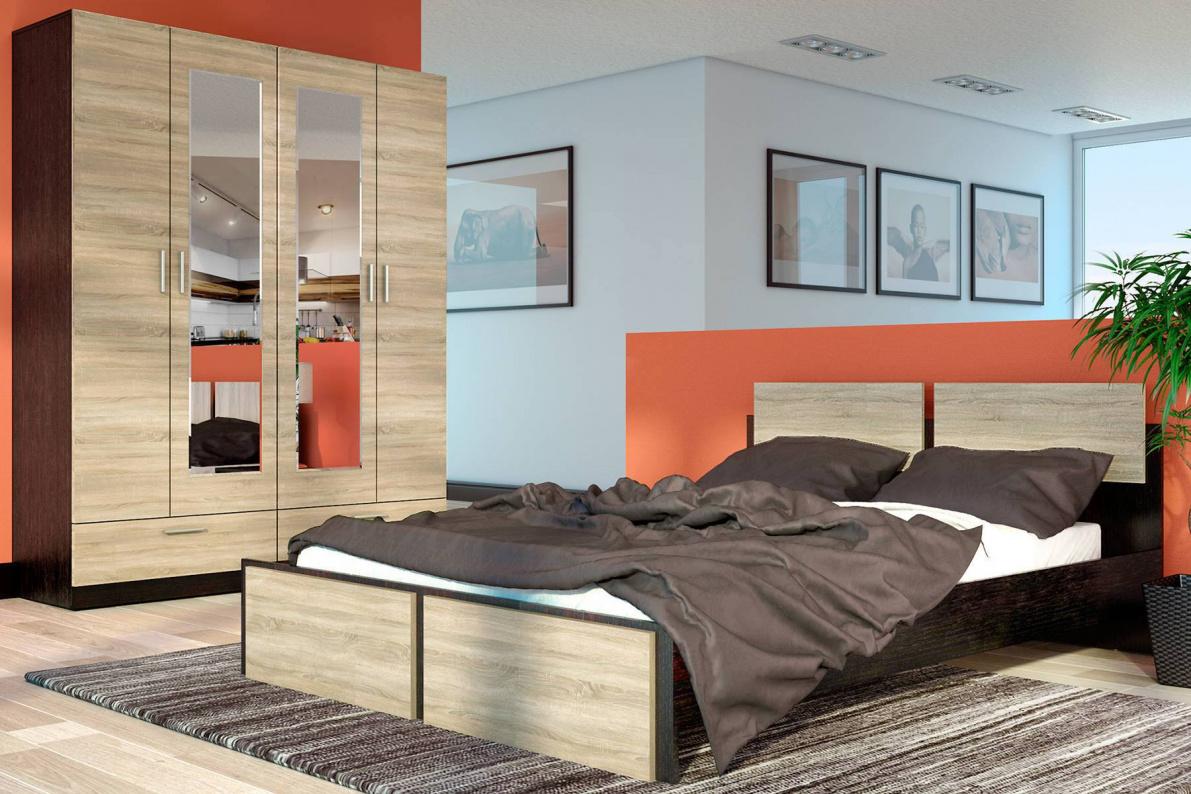 Купить Спальня Флер в  интернет магазине мебели. Мебельный каталог STOLLINE.