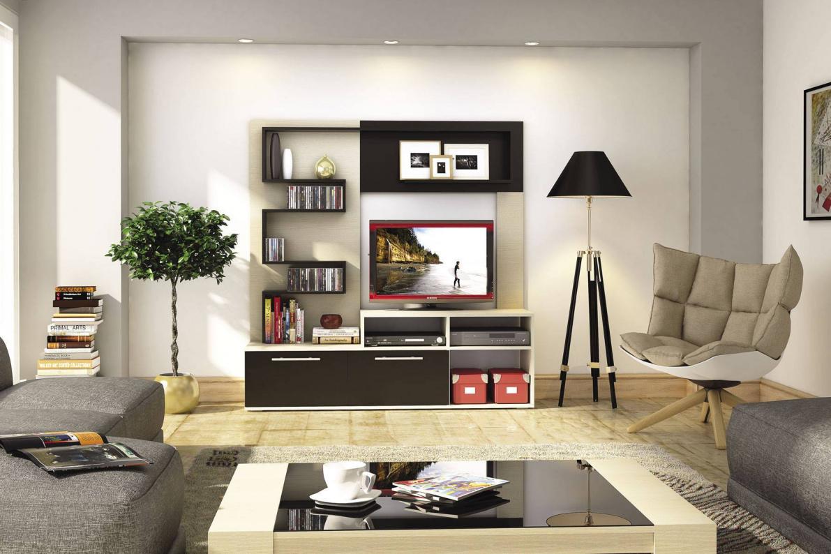 Купить Стенка Ибица в  интернет магазине мебели. Мебельный каталог STOLLINE.