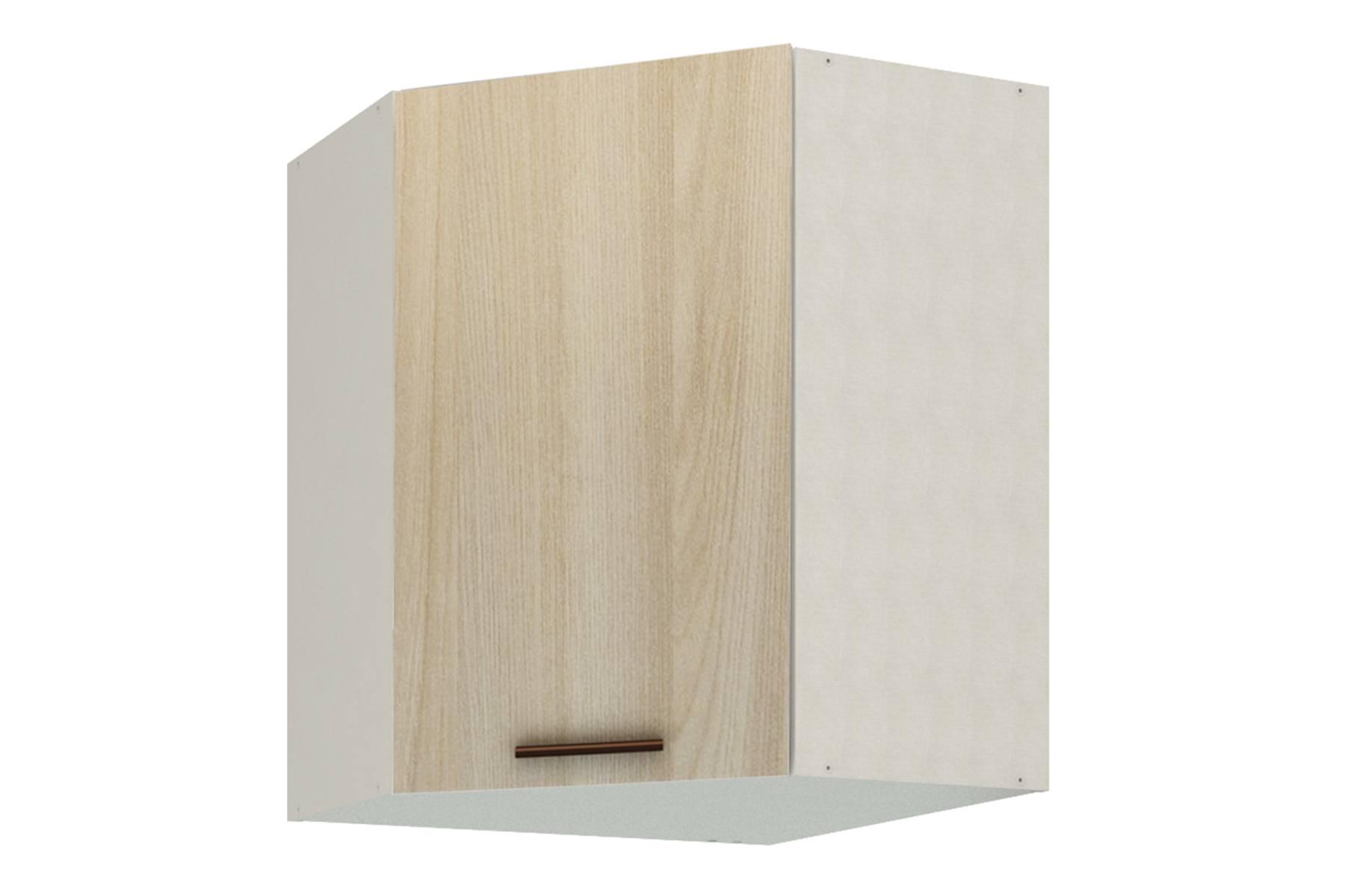 Ирис шкаф угловой с фасадом Ясень шимо светлый