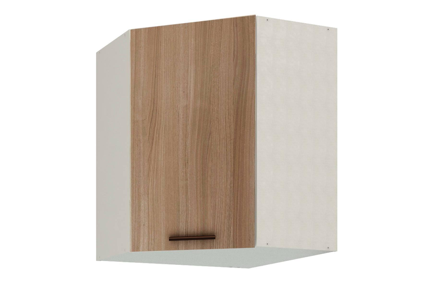 Ирис шкаф угловой с фасадом Ясень шимо темный