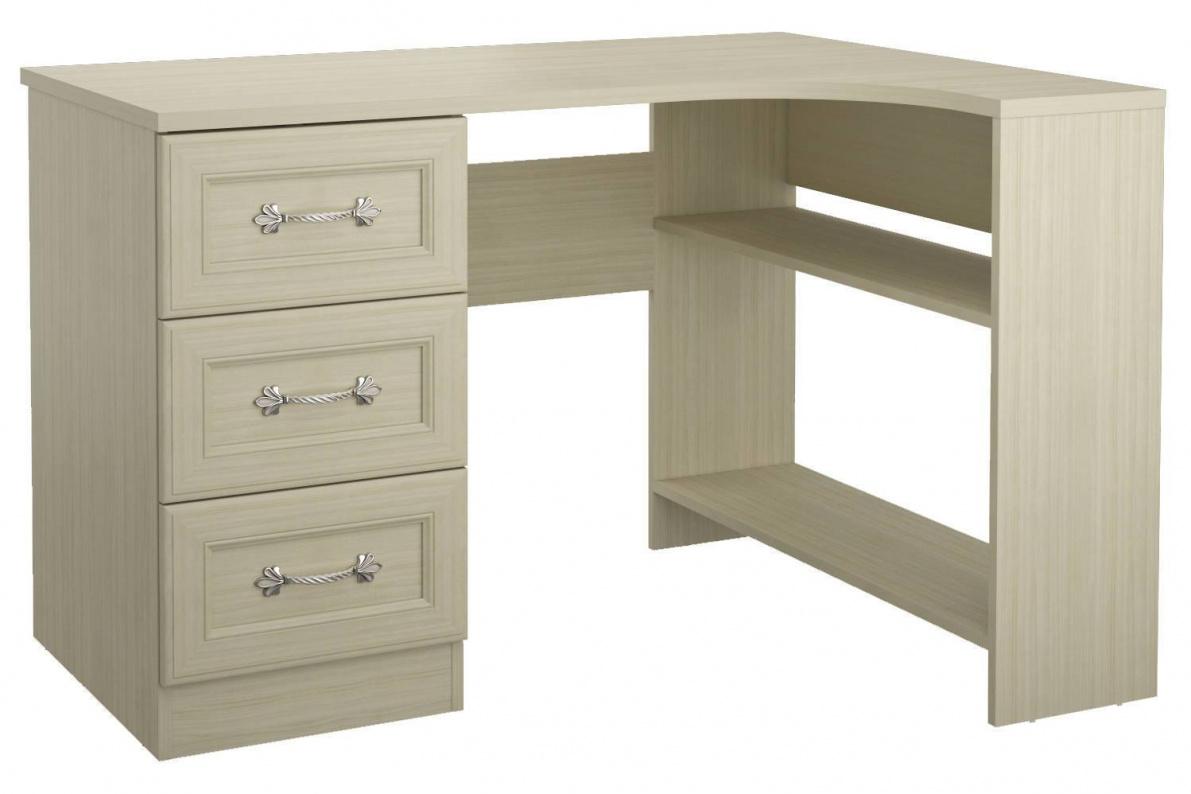 Купить Стол угловой правый Дженни СТЛ.127.11 в  интернет магазине мебели. Мебельный каталог STOLLINE.