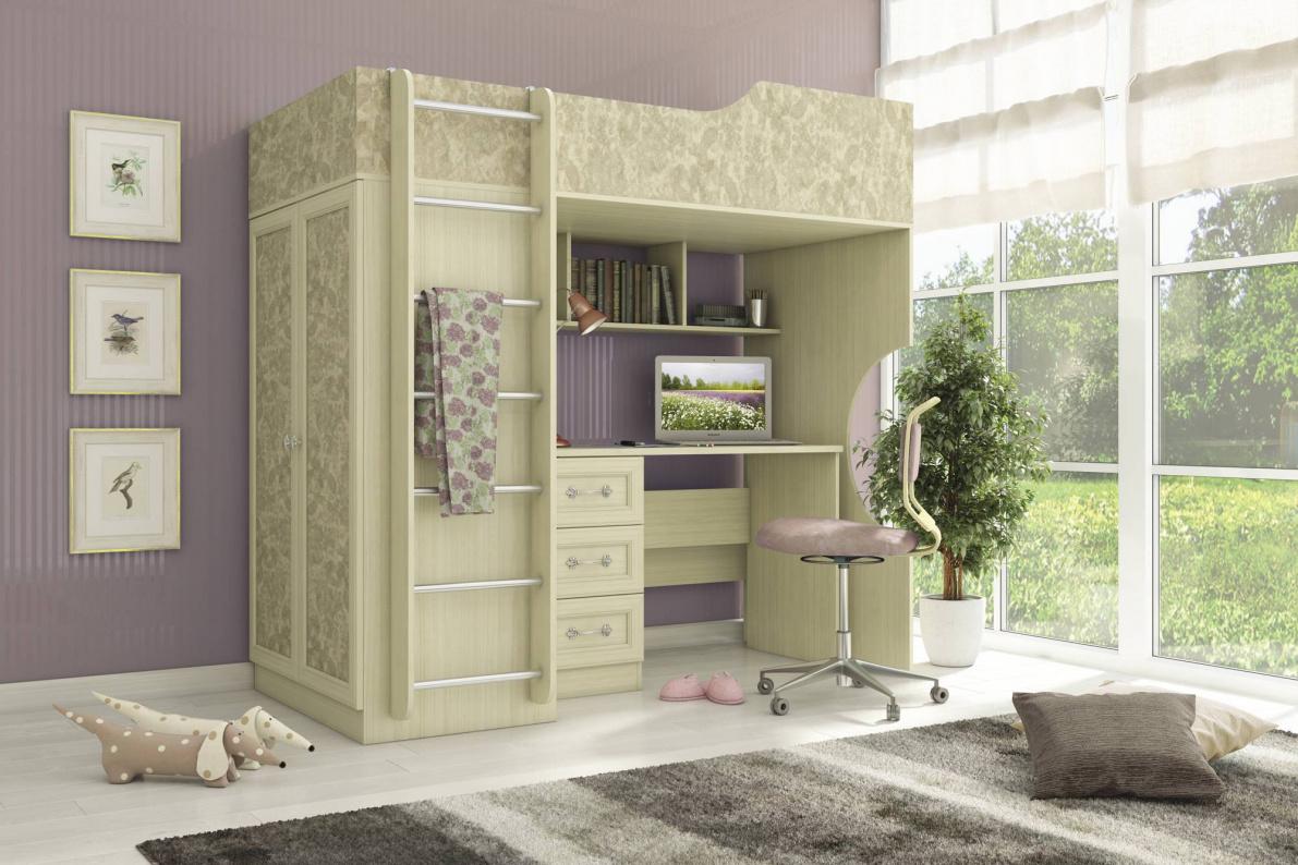 Купить Молодежная Дженни в  интернет магазине мебели. Мебельный каталог STOLLINE.