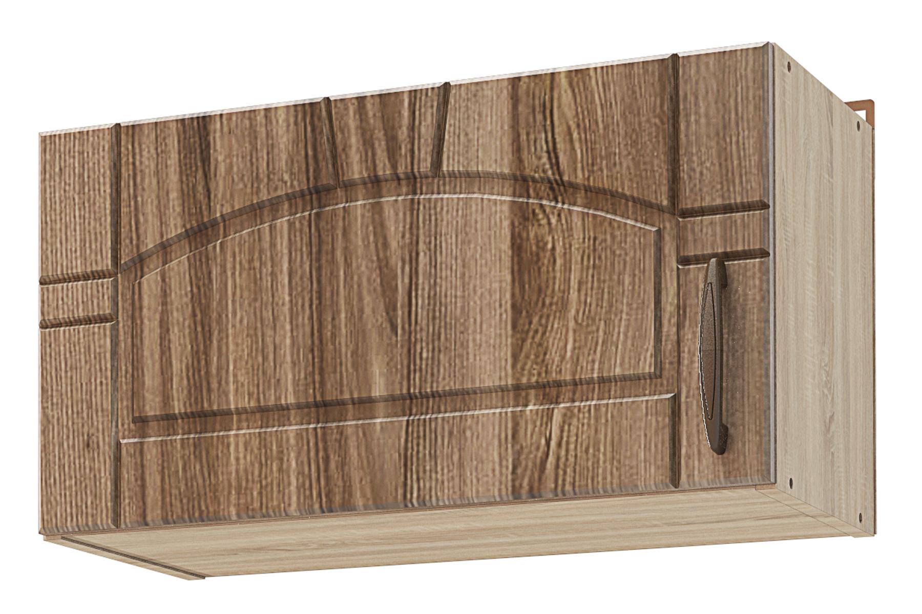 Шкаф навесной для вытяжки Камила тёмная СТЛ.217.07 шкаф навесной для вытяжки lima стл 308 04