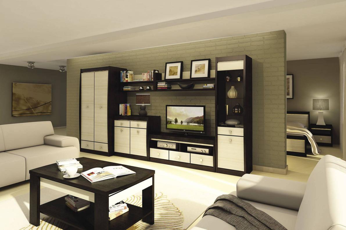 Купить Модульная система Ксено Дуб феррара/Ясень в  интернет магазине мебели. Мебельный каталог STOLLINE.