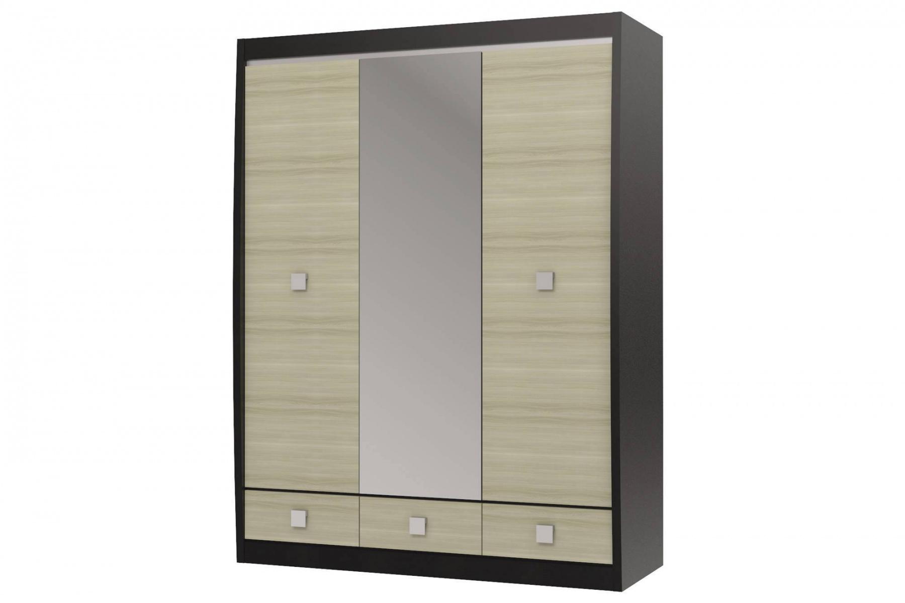 Шкаф с зеркалом 3-х дверный с 3-мя ящиками Ксено СТЛ.078.16 набор для пикника norfin vardo nfl 40106