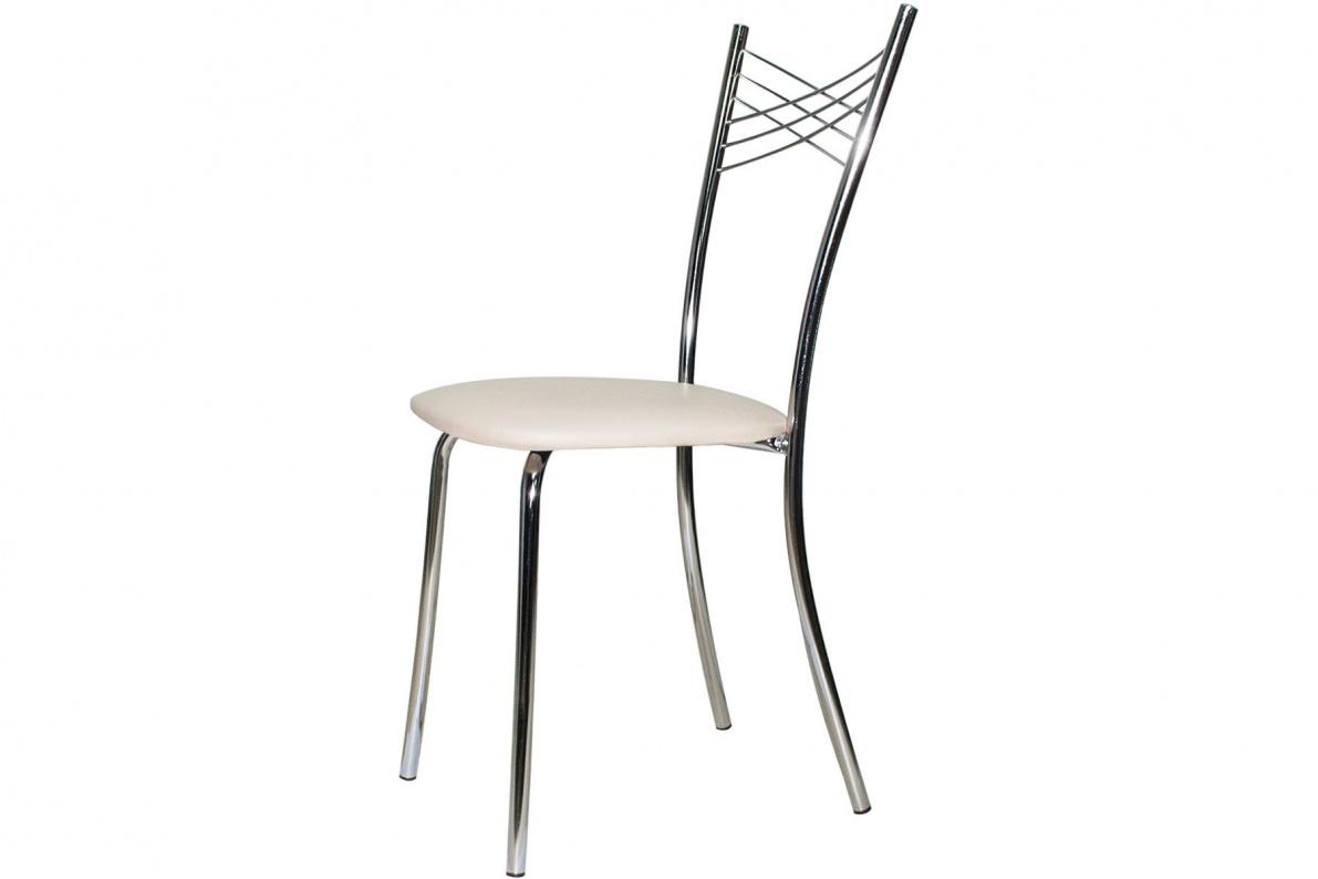 Купить Стул Лион (хром) в  интернет магазине мебели. Мебельный каталог STOLLINE.