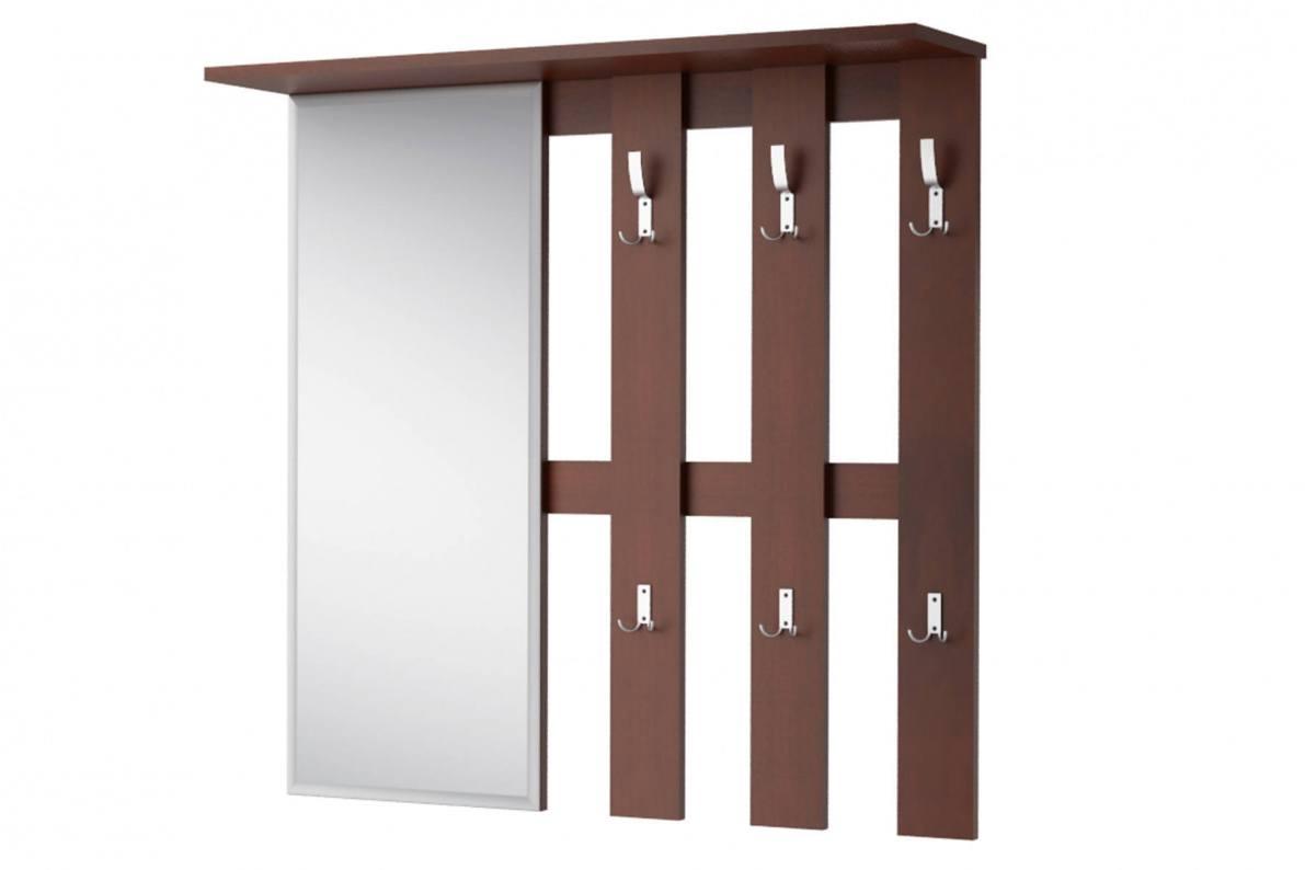 Купить Вешалка с зеркалом Лофт-2 СТЛ.117.03 в  интернет магазине мебели. Мебельный каталог STOLLINE.