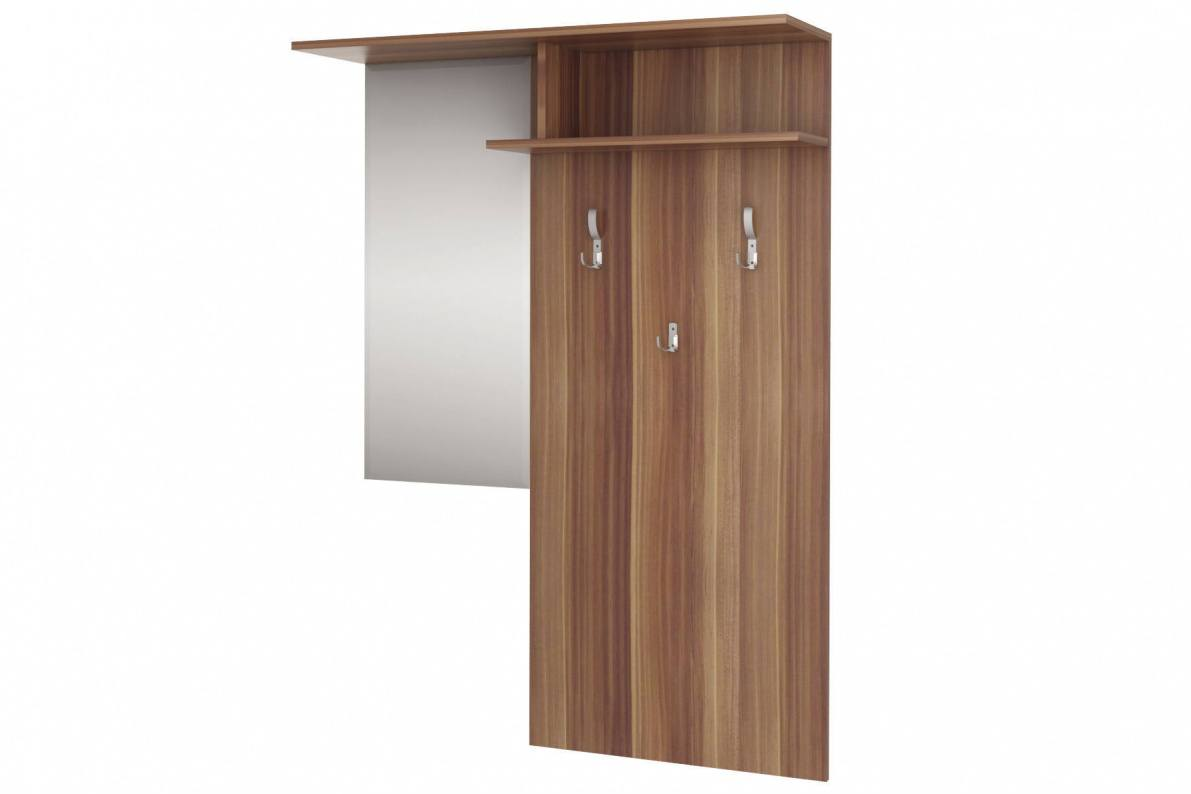 Купить Вешалка с зеркалом Лофт-3 СТЛ.130.02 в  интернет магазине мебели. Мебельный каталог STOLLINE.