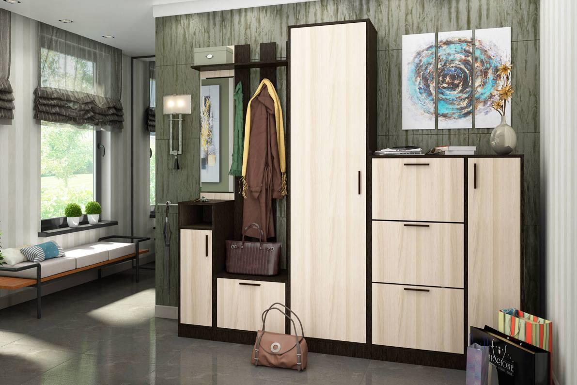 Купить Прихожая Лофт-5 в  интернет магазине мебели. Мебельный каталог STOLLINE.