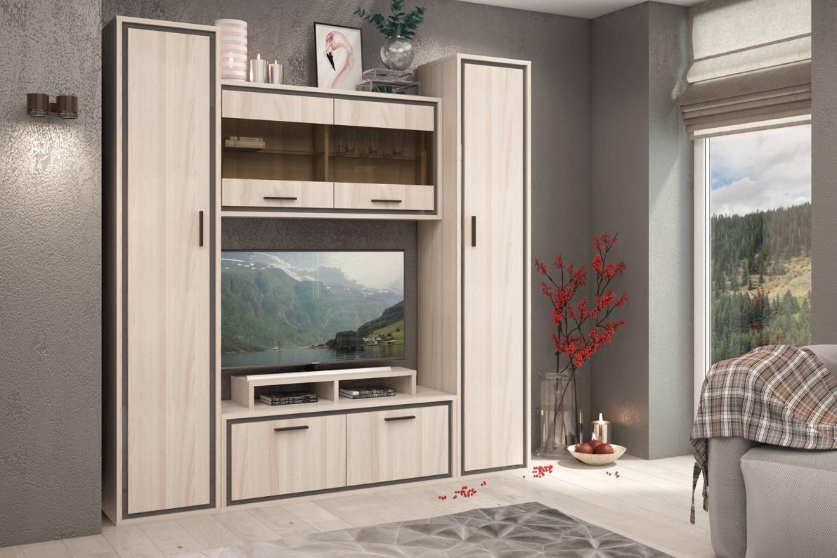 Купить Гостиная Мемфис в  интернет магазине мебели. Мебельный каталог STOLLINE.