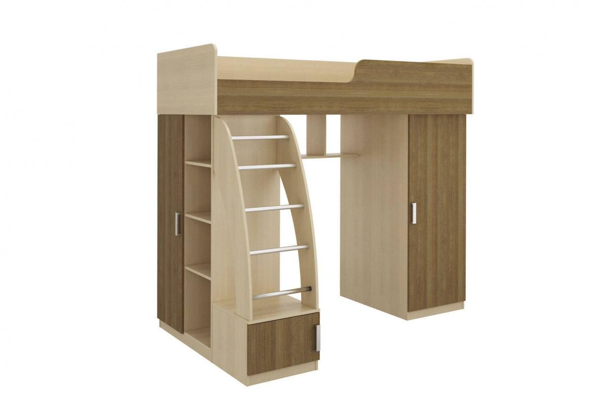 Купить Кровать левая Мика СТЛ.121.07 в  интернет магазине мебели. Мебельный каталог STOLLINE.
