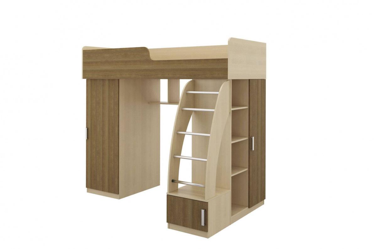 Купить Кровать правая Мика СТЛ.121.08 в  интернет магазине мебели. Мебельный каталог STOLLINE.