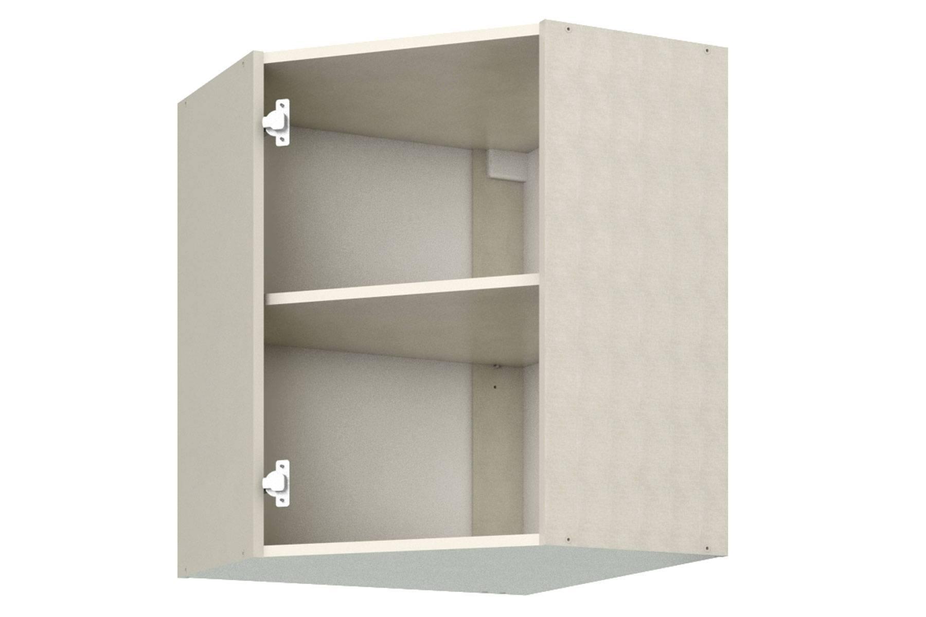 Шкаф навесной угловой (ПУ-60) недорого
