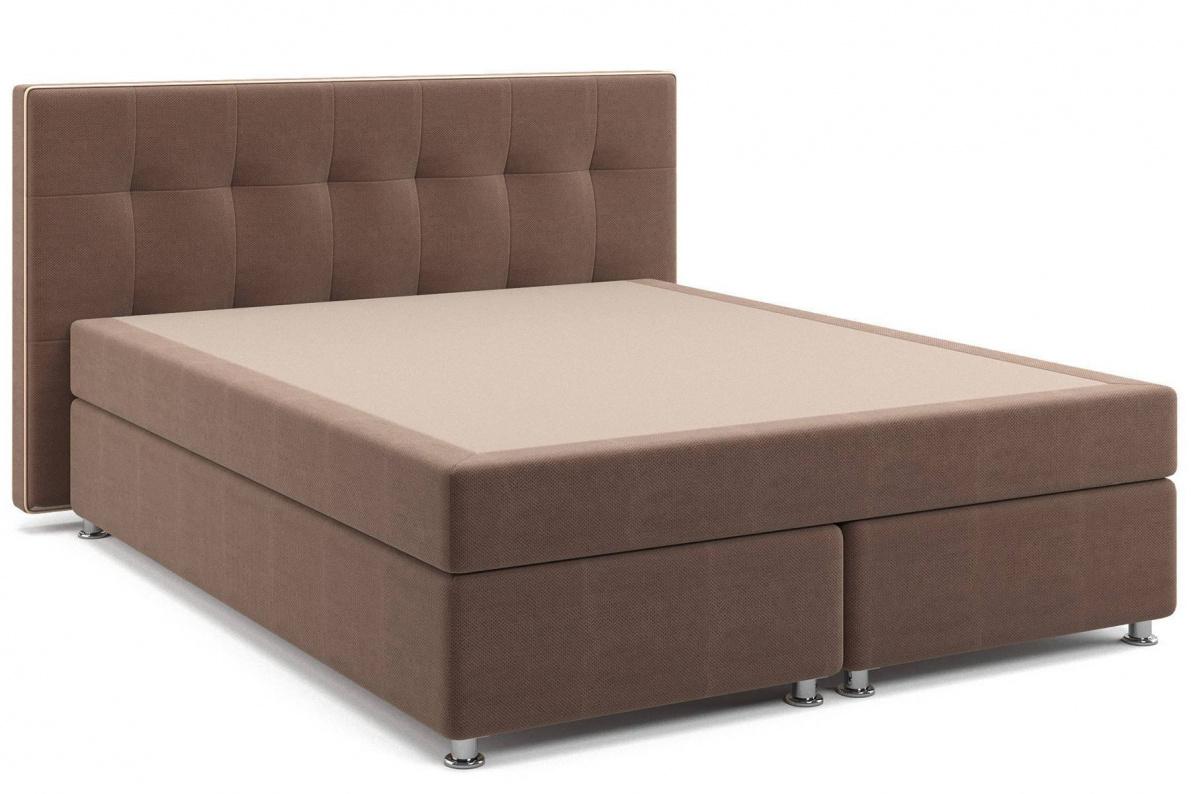 Купить Кровать Николетт Box Spring (с матрасом) в  интернет магазине мебели. Мебельный каталог STOLLINE.