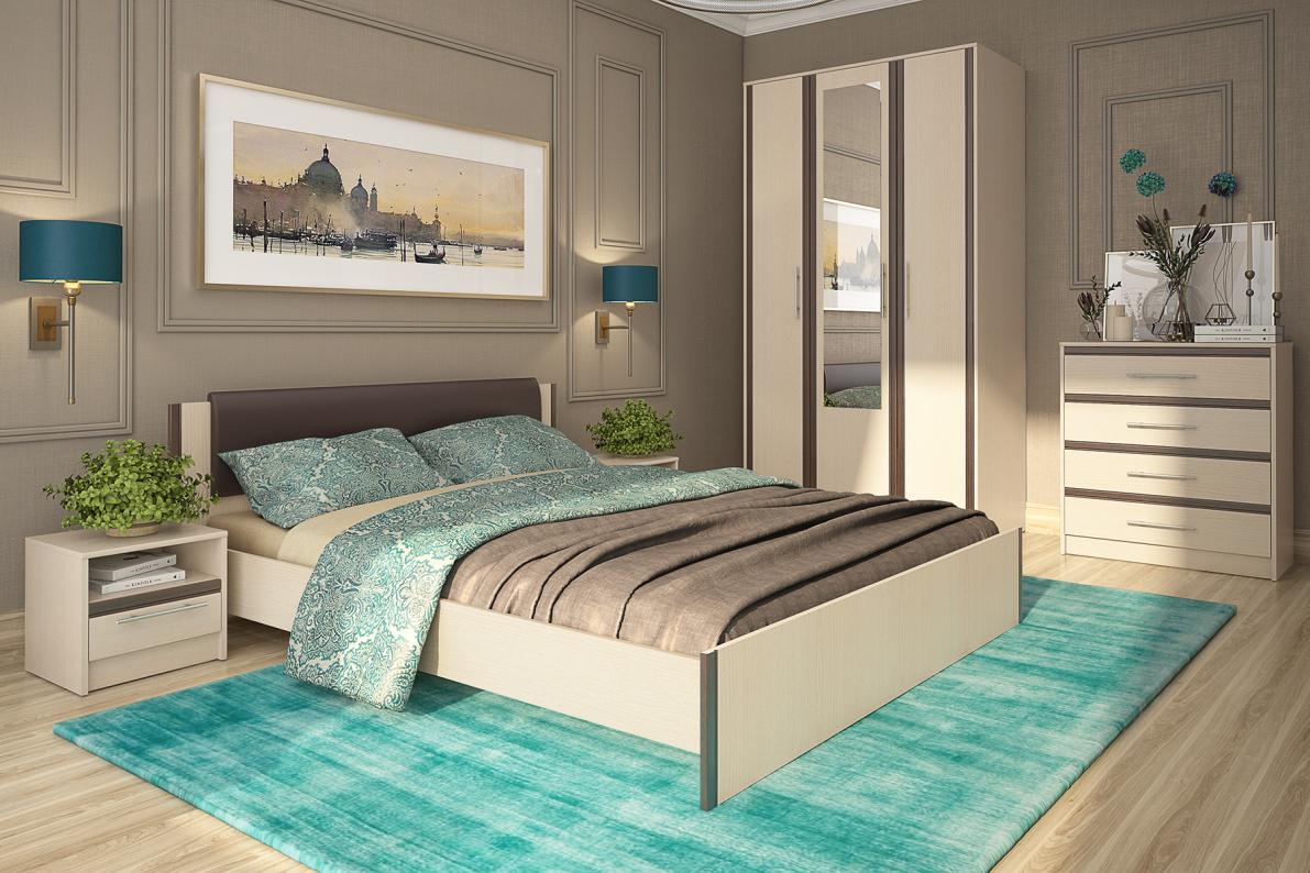 Купить Спальня Новелла в  интернет магазине мебели. Мебельный каталог STOLLINE.