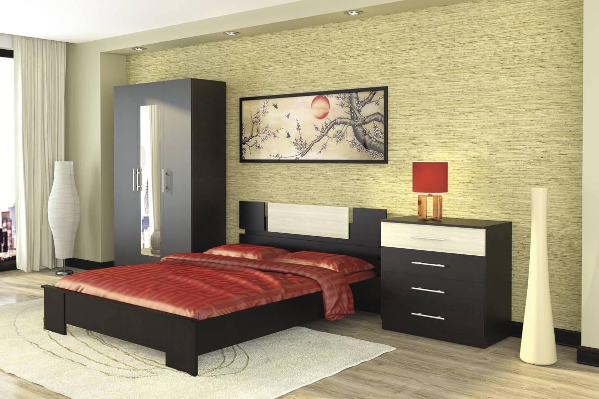 Купить Модульная система Оливия Дуб феррара/ Ясень глянец в  интернет магазине мебели. Мебельный каталог STOLLINE.