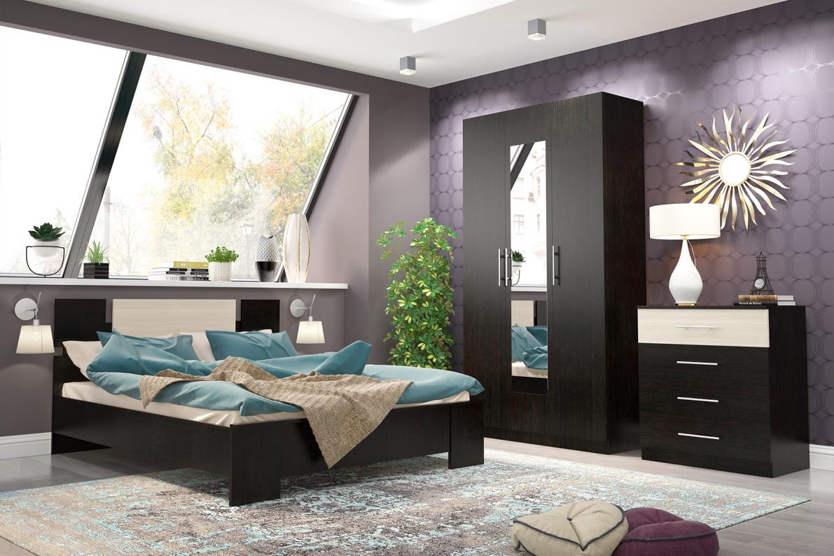Купить Спальня Оливия в  интернет магазине мебели. Мебельный каталог STOLLINE.