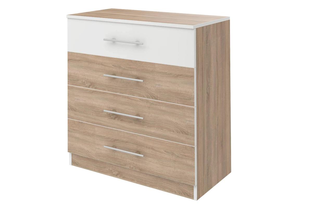 Купить Комод с 4-мя ящиками Оливия СТЛ.109.07 в  интернет магазине мебели. Мебельный каталог STOLLINE.