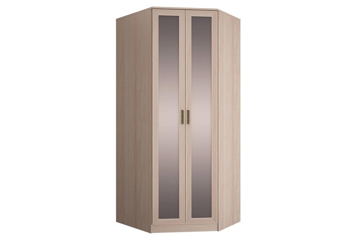 Купить Шкаф угловой правый с зеркалами Орион в  интернет магазине мебели. Мебельный каталог STOLLINE.