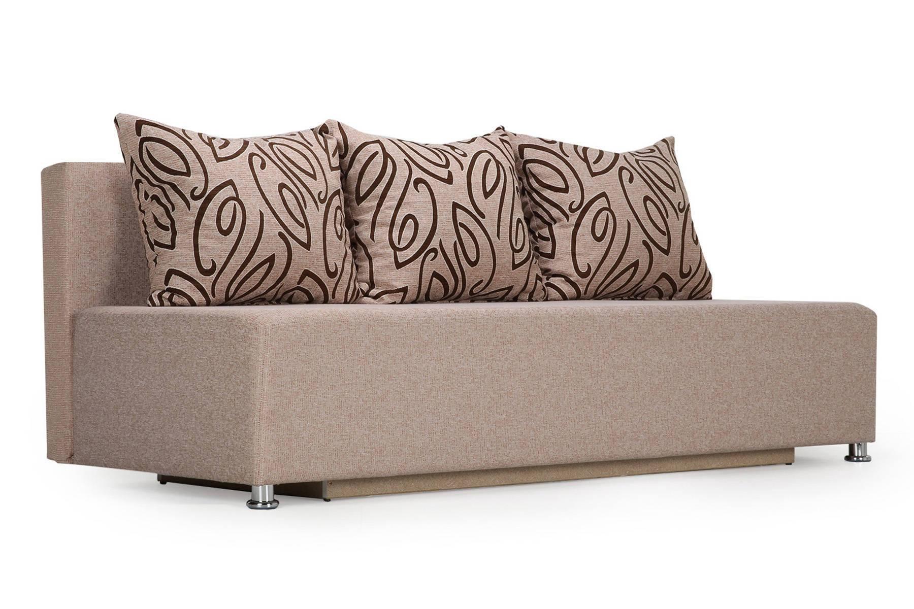диван-кровать 2-местный светлый