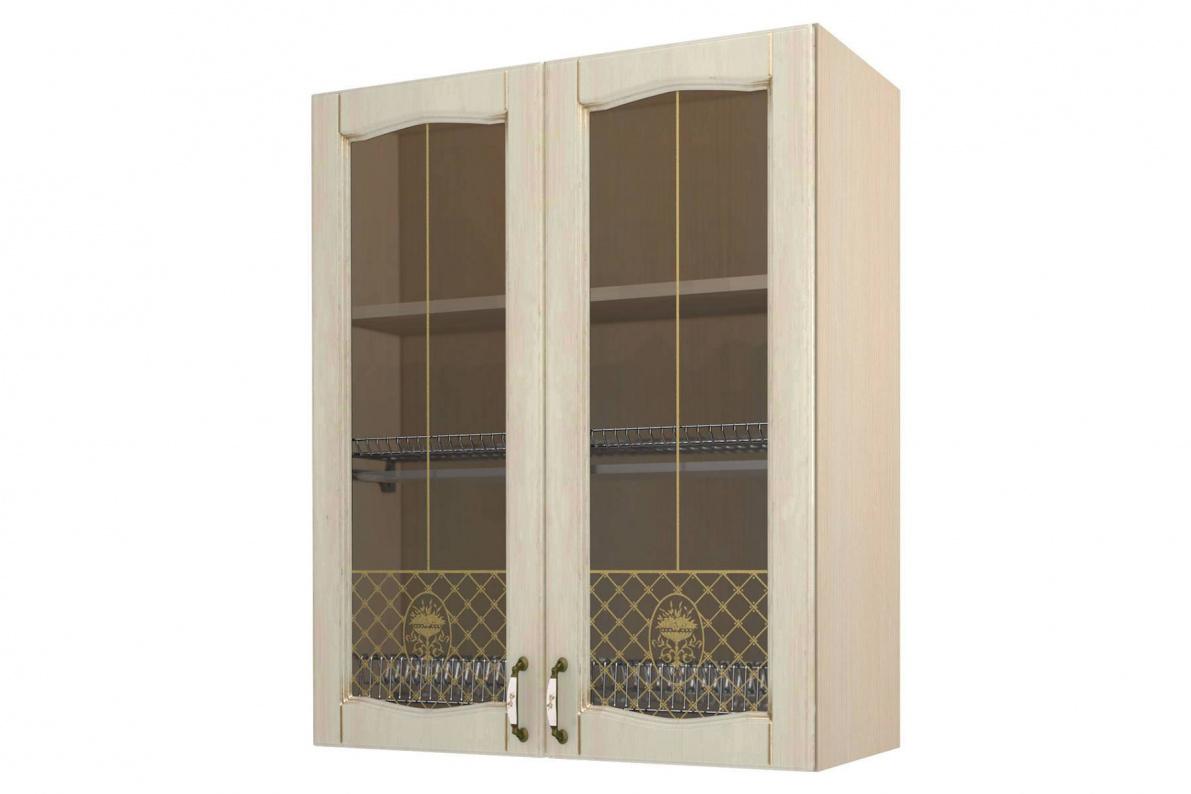 Купить Равенна шкаф-сушка-витрина 80, Н-96 в  интернет магазине мебели. Мебельный каталог STOLLINE.