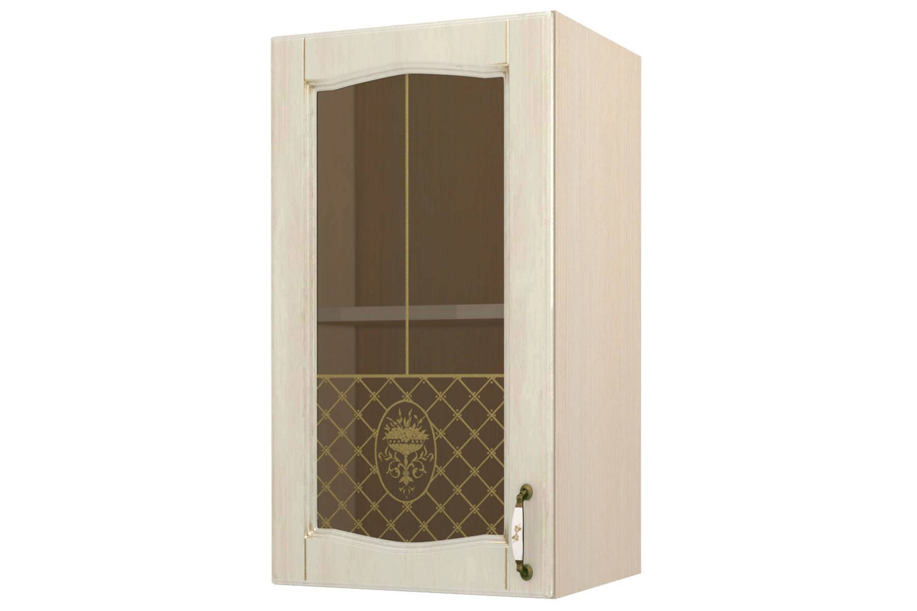 Равенна шкаф-витрина 40 левый недорого