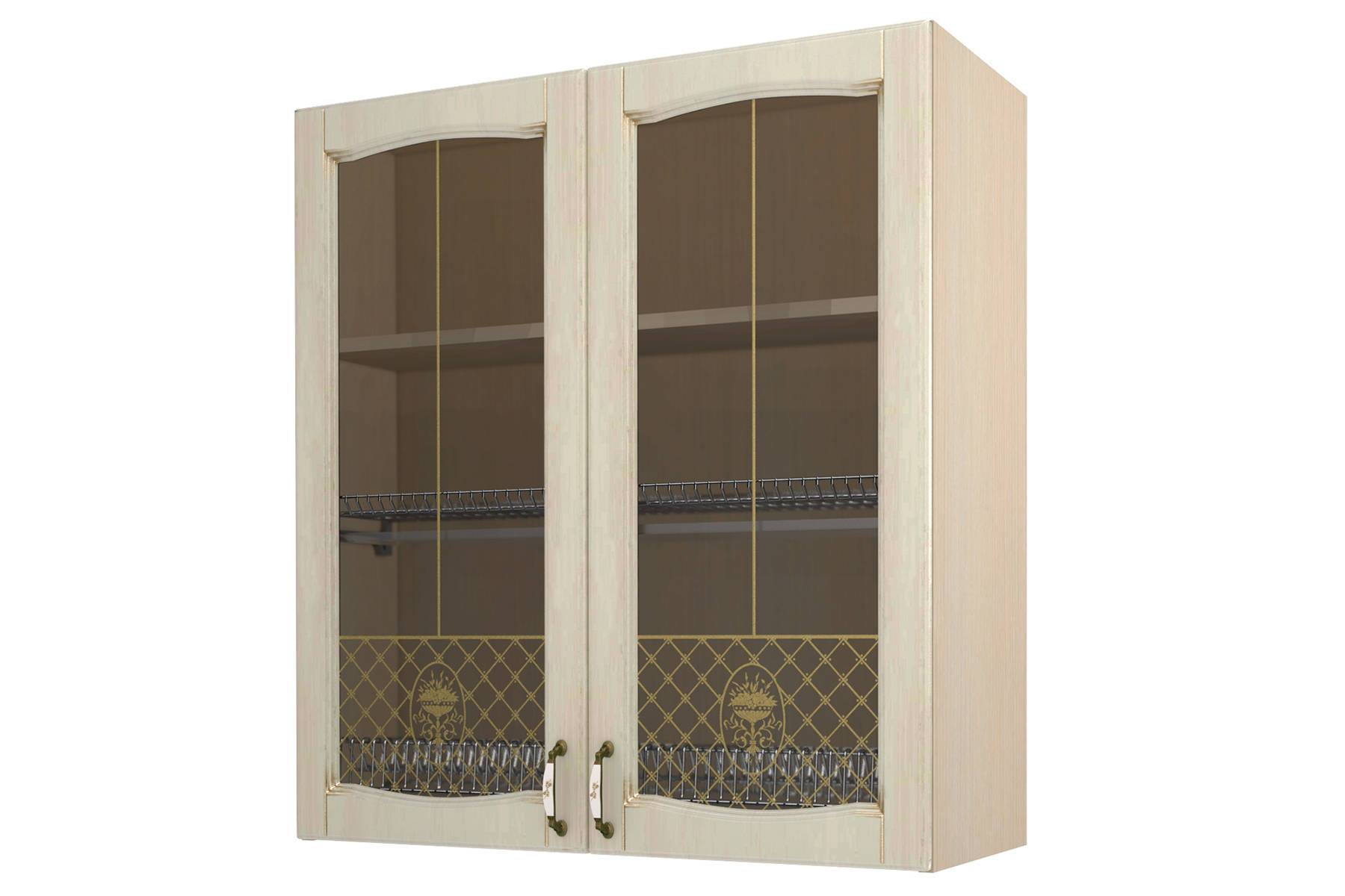 Равенна шкаф-сушка-витрина 90, Н96
