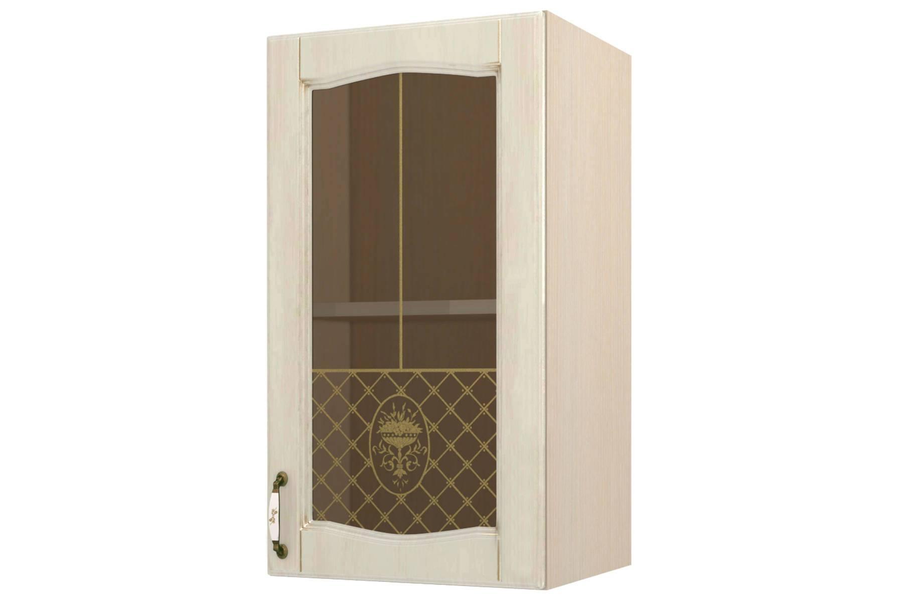 Равенна шкаф-витрина 40 правый