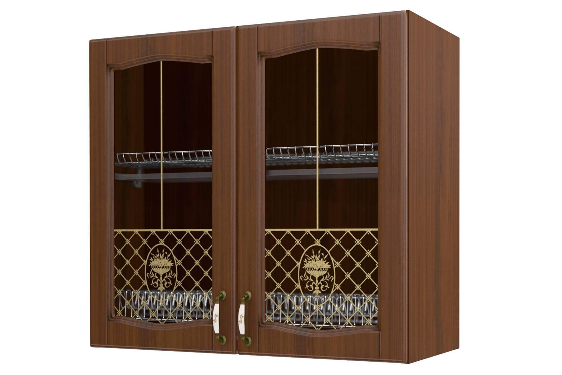Равенна шкаф-сушка-витрина 80