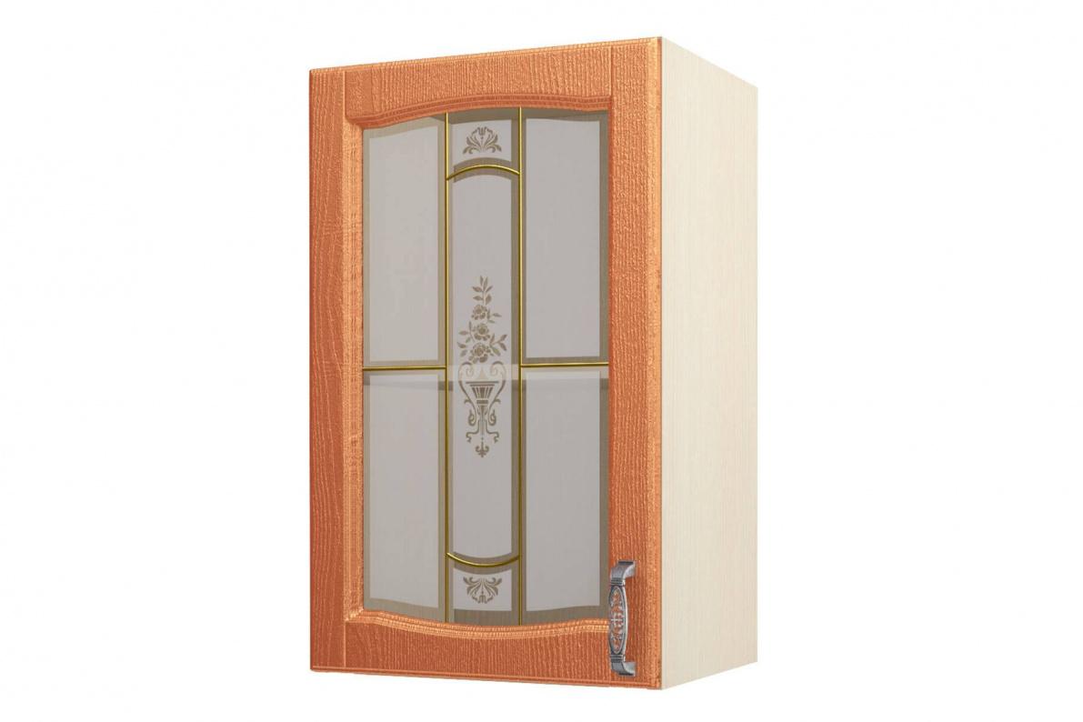 Купить Равенна ART Шкаф-витрина 45, 1 дверь в  интернет магазине мебели. Мебельный каталог STOLLINE.