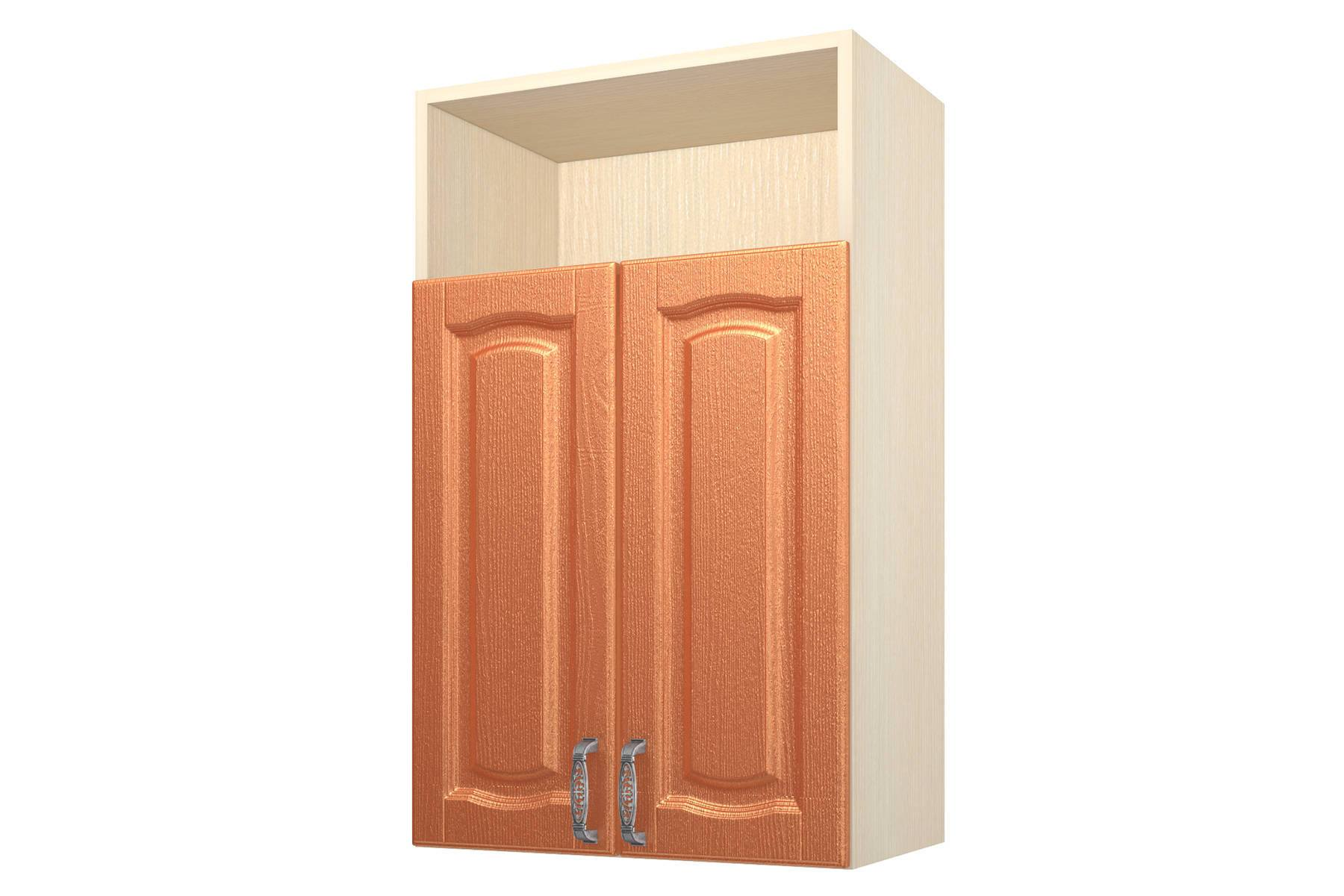Равенна ART Шкаф навесной 60, с нишей  2 двери