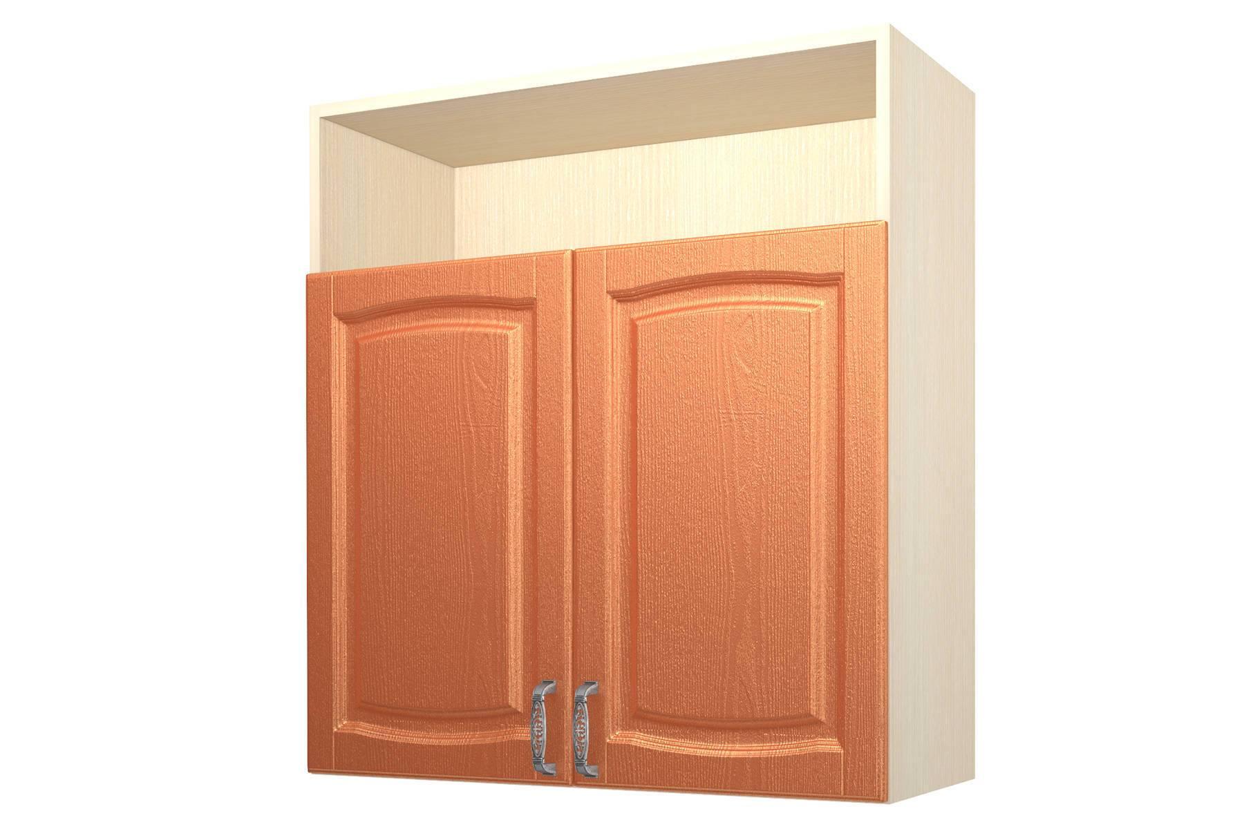 Равенна ART Шкаф навесной 90, с нишей 2 двери