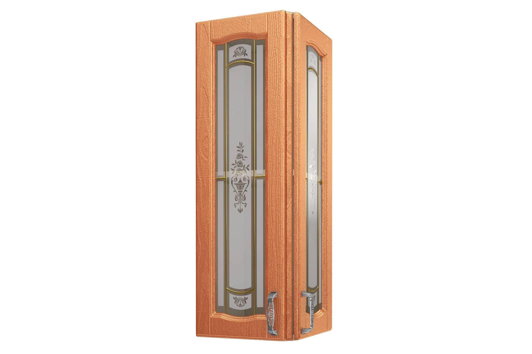Равенна ART Шкаф торцевой (Н-96), 2 витрины